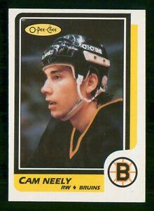 CAM-NEELY-1986-87-O-PEE-CHEE-86-87-NO-250-NRMINT-28170