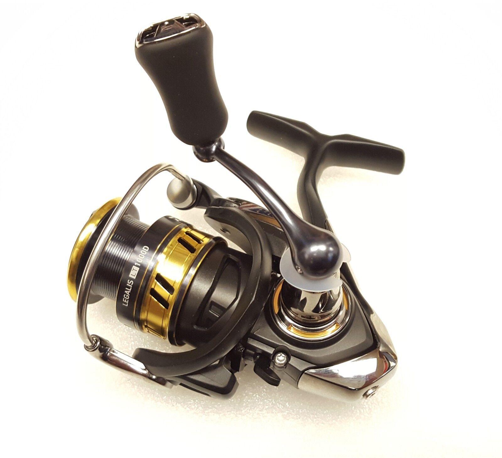 Daiwa Daiwa Daiwa Legalis LT 5.2:1 Left/Right Hand Spinning Fishing Reel - LGLT1000D 040a1b