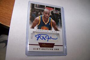 Rare-2013-14-Panini-Prestige-Jarret-Jack-Distinctive-Ink-Autograph-Serial-02-99