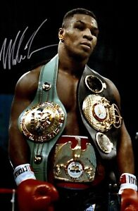 Mike Tyson Champion Boxer Boxing Art Silk Poster 12x18 24x36