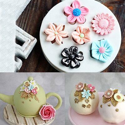 Sea Coral Silicone Fondant Cake Mold Chocolate Baking Tool Sugarcraft Mould 6A