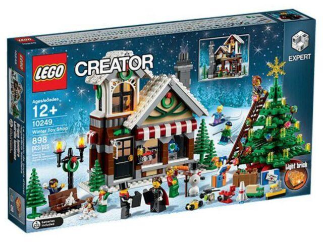 LEGO 10249 Creator Winter Toy Shop BRAND NEW SEALED BOX