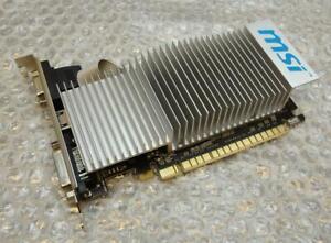 1GB-MSI-Geforce-210-DVI-VGA-HDMI-Pci-E-Carte-Graphique-Video-N210-MD1GD3H-LP
