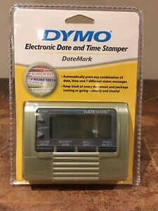 Details About New Sealed Dymo Datemark Electronic Date And Time Stamper 47002 Stamp Dater