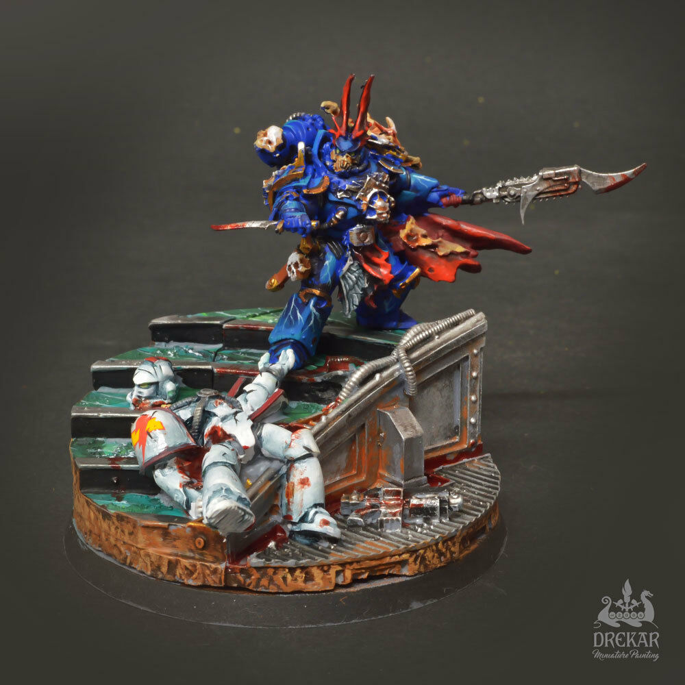 Sevatar - First Captain of the Night Lords  warhammer 40K COMMISSION pro painted
