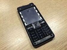 Genuine Original Sony Ericsson C902 Housing Fascia Chassis Keypad UI Frame Black