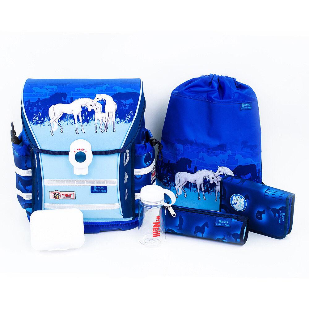 McNeill Ergo Light 912 Schulranzen Set 6-teilig Horses |  Neuer Markt  | Nutzen Sie Materialien voll aus  | Smart