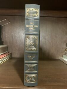 THE-TRANQUILITY-WARS-GENTRY-LEE-SIGNED-FIRST-EDITION-EASTON-PRESS-COA