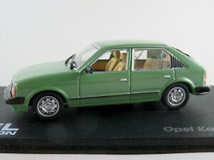 Ixo-60-Opel-Kadett-D-1-6s-1979-1984-en-verde-1-43-nuevo-PC-vitrina