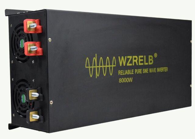 48V to 240V 50HZ 8000W Off Grid Pure Sine Wave Inverter Home Wind Solar System