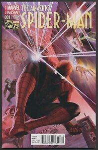 THE-AMAZING-SPIDER-MAN-1-ALEX-ROSS-1-75-VARIANT