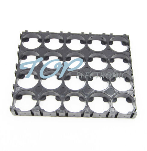 10PCS 4x5 Cell 18650 Batteries Spacer Radiating Shell Plastic Heat Holder