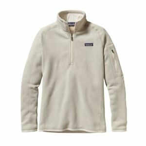 Details about PATAGONIA Women s Better Sweater 1 4 Zip Pullover 71898d6c31