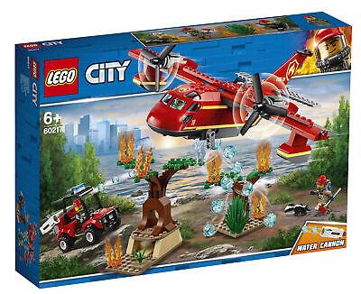 * Nuovo Sigillato * Lego City 60217 Fire Piano Set 6+ Set Da Costruzione-mostra Il Titolo Originale