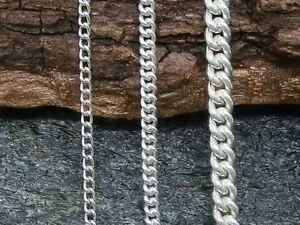 Cadena-Collar-Cadena-Plata-Genuina-925-Cadena-de-Plata-Unisex