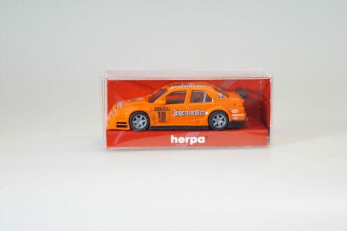 artículo nuevo//en el embalaje original 1:87 Herpa somo alfa Jägermeister DTM #19