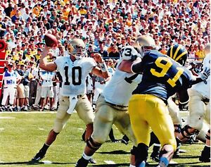 Image result for brady quinn notre dame michigan
