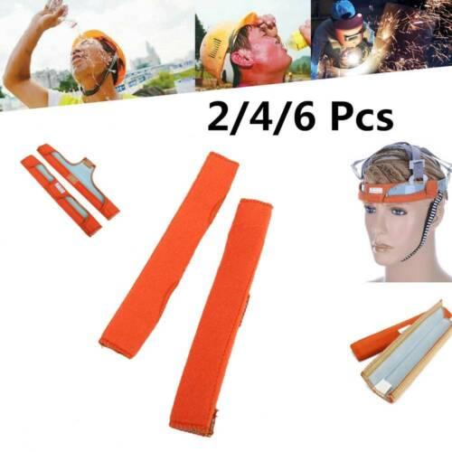 2//4//6 Welding Helmet Sweatbands Comforter Head Hat Cotton Sweat Band Replacment