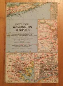 National-Geographic-Magazine-Supplement-Map-August-1962-Washington-to-Boston