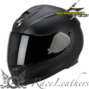 Scorpion-Exo-510-Noir-Mat-Integral-Casque-Motocycle-Moto