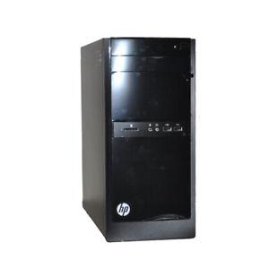 Hp 110 404a B Desktop Pc Amd E1 6010 Cpu 4gb Ram 500g Hdd Wifi Win 8 1 Ebay