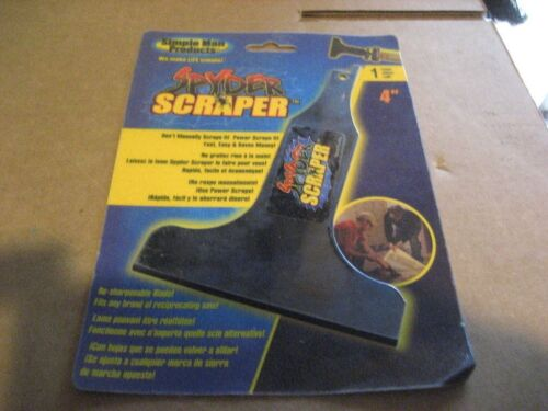 "D2444-5 4/"" RECIPRICATING SPYDER SCRAPER 5PCS"