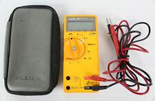 Fluke 23 Digital Multimeter With Case And Probes