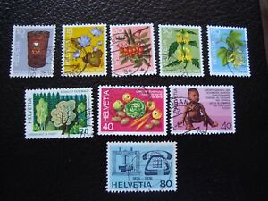Switzerland-Stamp-Yvert-and-Tellier-N-994-A-1002-Obl-A2-S