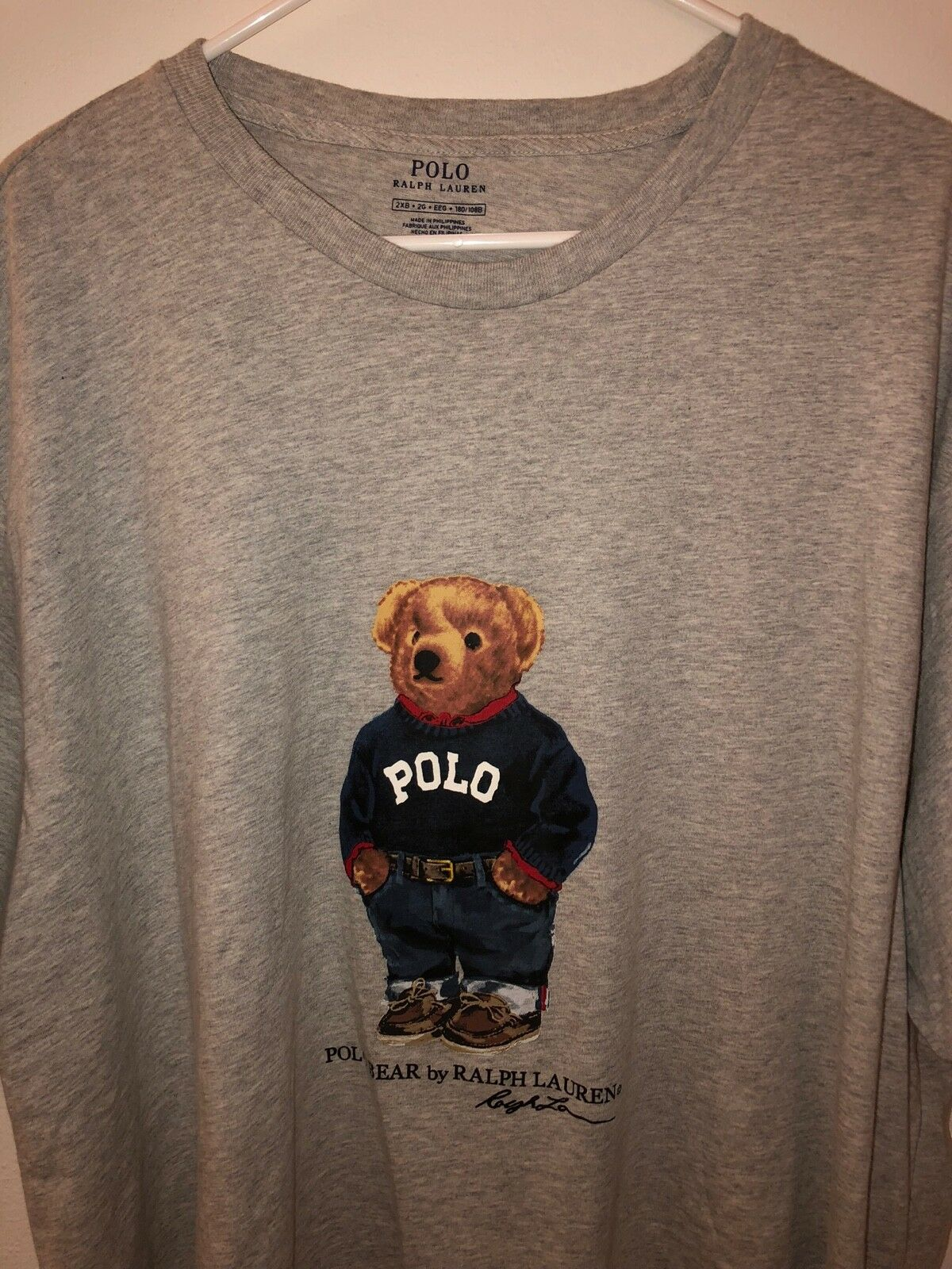 Polo Bear by Ralph Lauren Graphic T-Shirt Men Big & Tall Sizes NWT