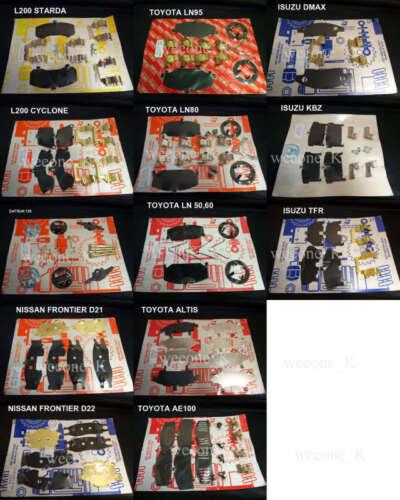 Disc Brake Hardware Kit Front For Nissan D21 Frontier Pickup 1987-1995