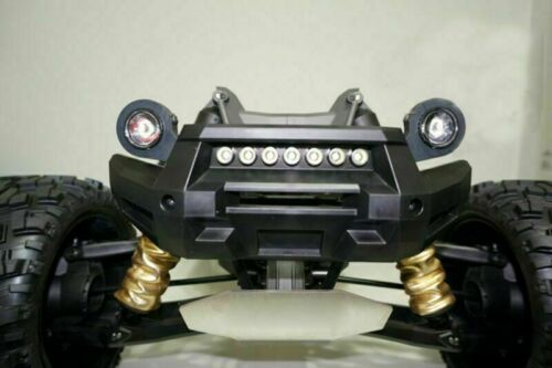 Front Bumper Headlight 7 LED Light Bar for 1//5 Traxxas X-MAXXX XMAXX RC CAR BUS