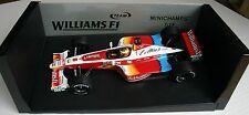 1/18 WILLIAMS FW21 RALF SCHUMACHER 1999 #6 F1 VELTINS MINICHAMPS DISPLAY BOX