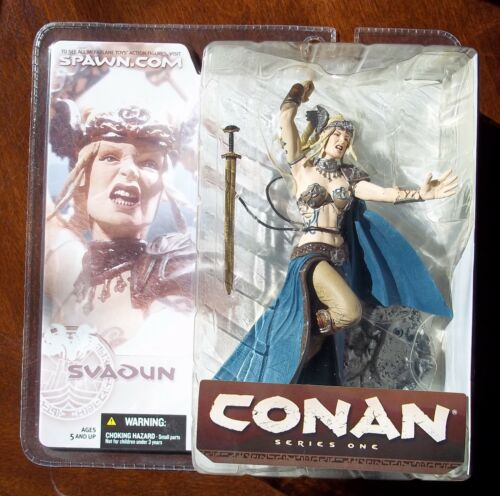 NEW ON CARD 2004 FROM MCFARLANE SVADUN ACTION FIGURE CONAN SERIES 1