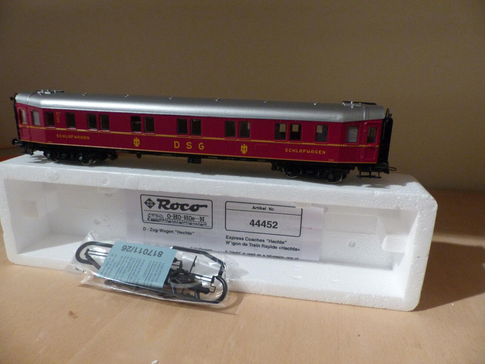 Roco 44452 , Personenwagen Schlafwagen DSG  Hecht  , Spur H0  | Mittel Preis