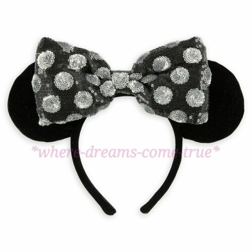 NEW Disney Parks Minnie Mouse Ear Headband Swap Your Bow
