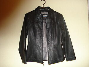 eb1762f1d Details about Women's Pelle Studio Wilsons Black Leather w/Thinsulate  Jacket-M