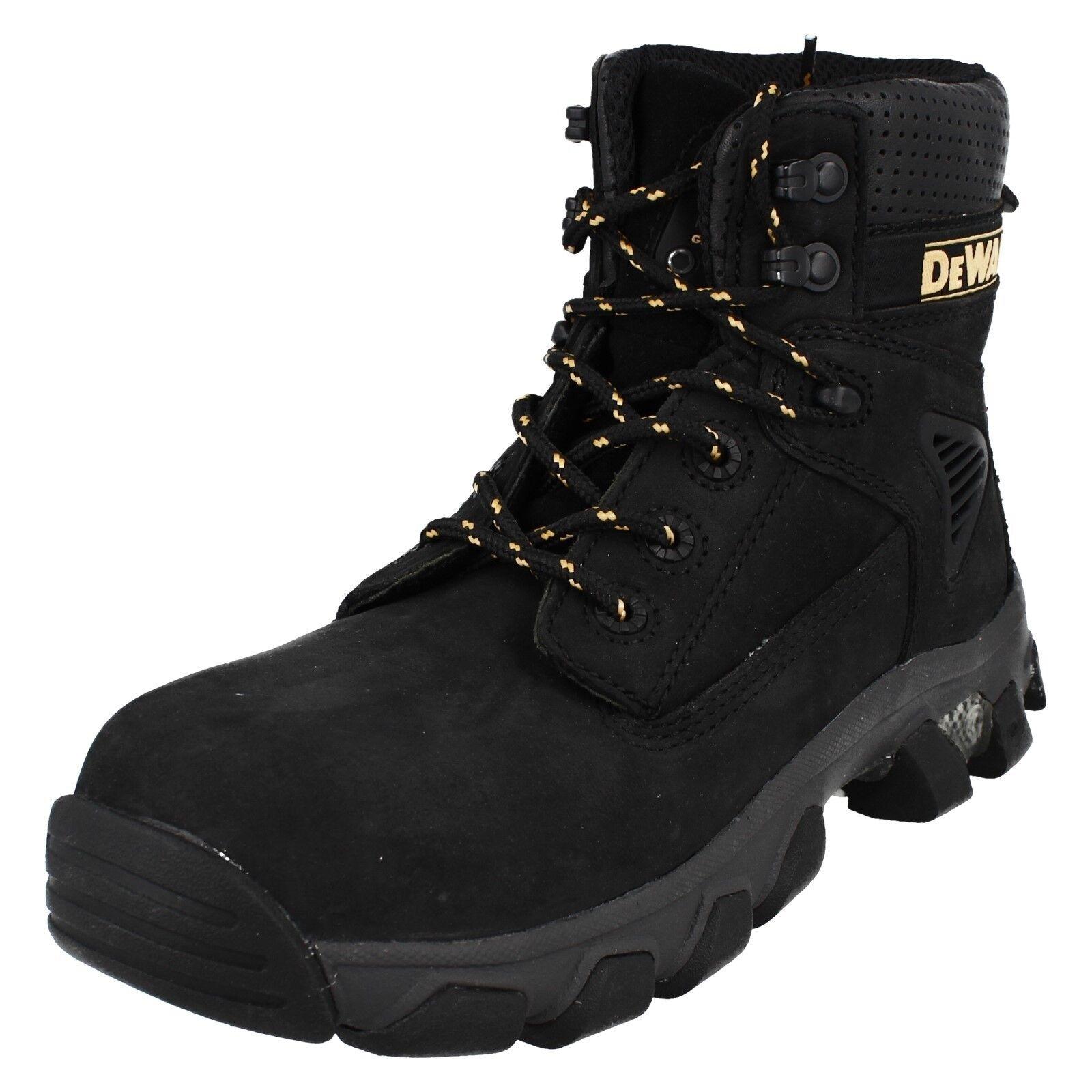 DEWALT Para Hombre Gorra De Puntera De Acero botas con cordones punta rojoonda seguridad reforzar DWF-50062-111
