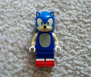 LEGO-Dimensions-Rare-Original-Sonic-the-Hedgehog-Minifig-Excellent