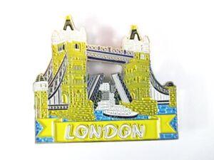 London Tower Bridge Fridge Metal Magnetic Souvenir, United Kingdom