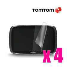 4x GPS Sat Nav Navigation LCD Screen Guard Protector For TomTom Go 400