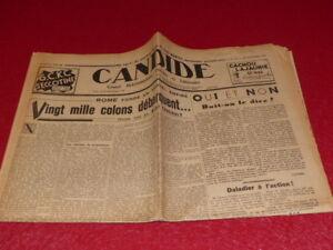 PRESSE-WW2-AVANT-GUERRE-CANDIDE-767-23-NOVEMBRE-1938-Andre-FOUCAULT-Rome