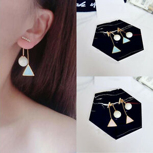 Fashion-Korean-Vintage-Pink-Blue-Triangle-Ear-Stud-Earrings-for-Women-New