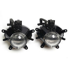 2X Fog Lights Driving Lamps Assy Wiith bulbs For 2002-2005 BMW 3 Series E46 4DR