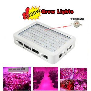 1200W-Full-Spectrum-LED-Grow-Light-Kit-2-Chip-for-Hydro-Medical-Veg-amp-Bloom-Plant