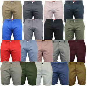 Mens-Chino-Shorts-Threadbare-Pants-Westace-Stallion-Knee-Length-Roll-Up-Summer
