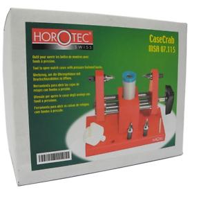 Horotec-MSA07-115-A-Presion-Reloj-Relojeros-Estuche-Abriendose-Cangrejo-Abridor