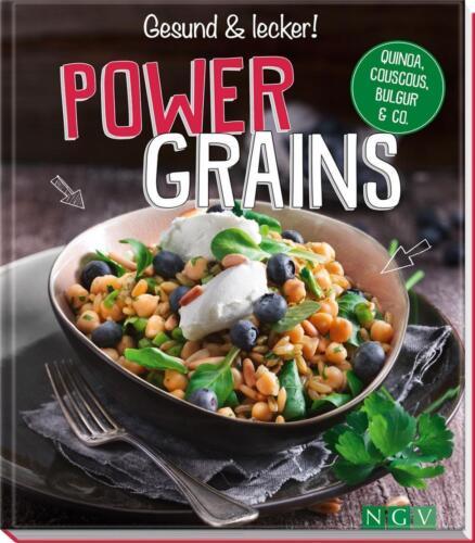1 von 1 - Powergrains: Quinoa, Couscous, Bulgur & Co. von Wiedemann, Christina