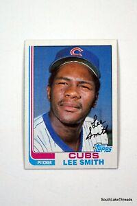 1982 Topps Set Break #452 Lee Smith NM-MT OR BETTER *GMCARDS*