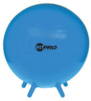 Lot Of 10 Stability Excercise Balls With Feet, Blue, 44 X 34 X 38 Cm