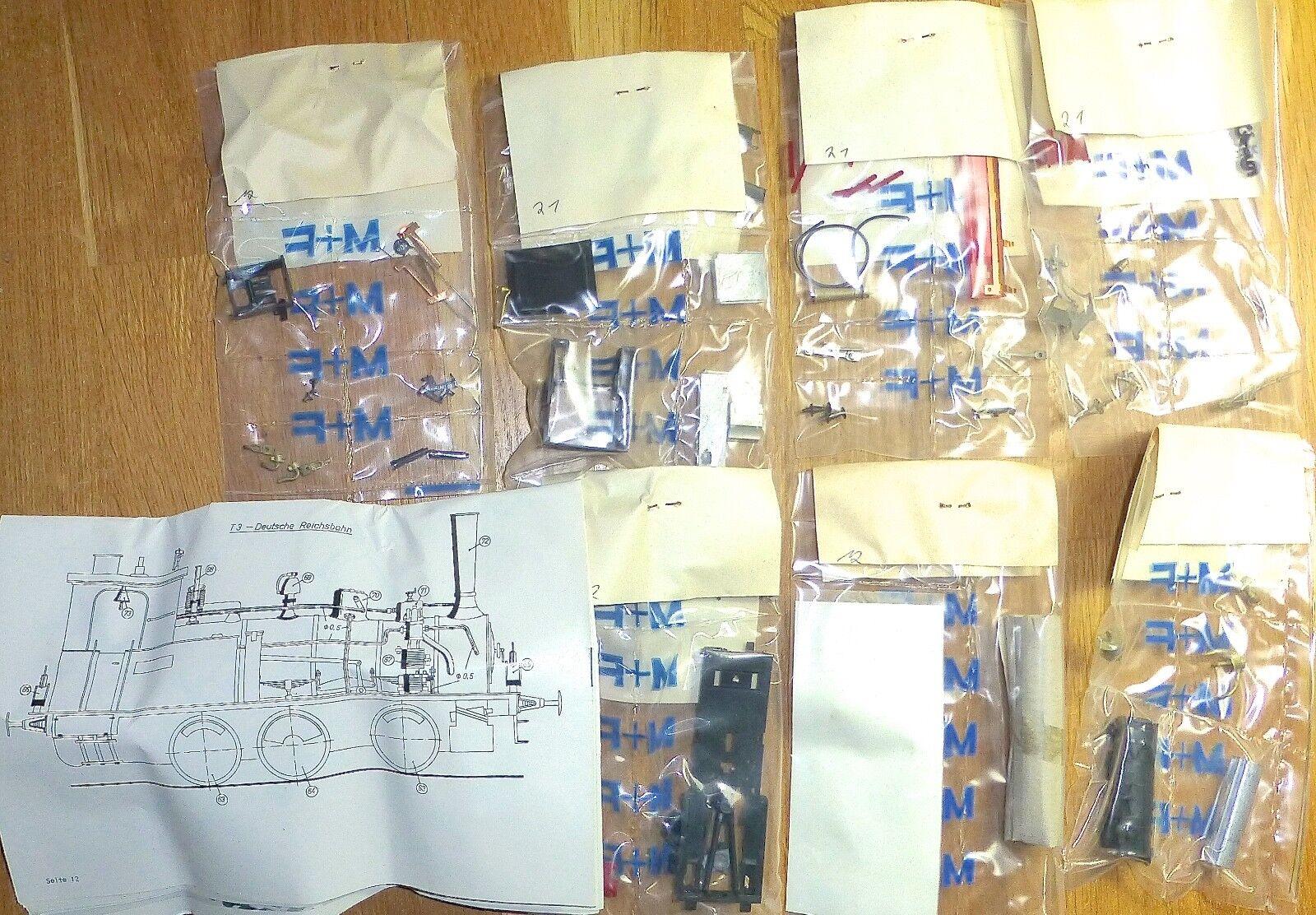 T3 reichsbahnausführung Rebuilt Kit M+F 052 Special H0 1 87 Å